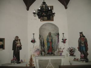 chiesetta interno